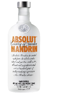 Absolut Vodka Mandarine 40% Vol. 70 cl