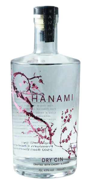Hanami Gin 43% Vol. 70 cl Holland
