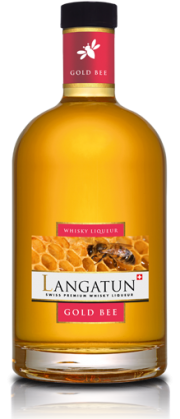 Langatun Gold Bee Whisky Liqueur Swiss Premium 28% Vol. 70 cl