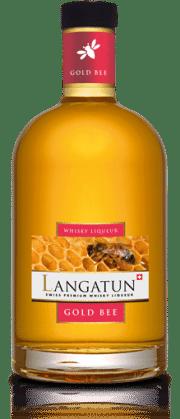 Langatun Gold Bee Whisky Liqueur Swiss Premium 28% Vol. 70 cl
