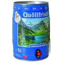 Appenzeller Quöllfrisch hell 5 L Party-Fässli