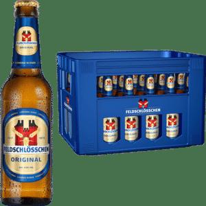 Feldschlösschen Original 4,8% Vol. 24 x 33 cl MW Flasche