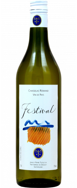 J. P. Testuz SA Chasselas Romand Vin de Pays Festival 12% Vol. 75cl 2016