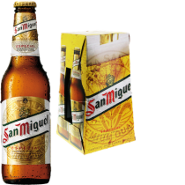 San Miguel Beer 5,4% Vol. 24 x 33 cl EW Flasche Philippinen / Spanien
