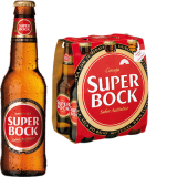 Super Bock Lager 5,4% Vol. 6 x 33 cl EW Flaschen Portugal