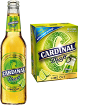 Cardinal Draft LIME CUT 4,6% Vol. 24 x 33 cl EW Flasche