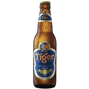 Tiger Beer 5,0% Vol. 24 x 33 cl EW Flasche Singapur