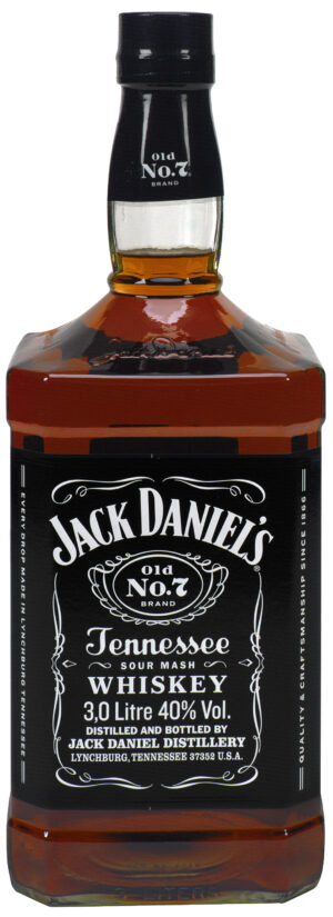Jack Daniel's Old No.7 Tennessee Whiskey 40% Vol. 300cl
