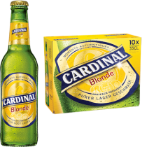 Cardinal Blonde 4,8% Vol. 10 x 33 cl EW Flasche