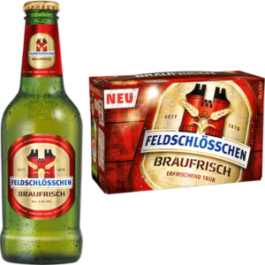 Feldschlösschen Braufrisch 5% Vol. 10 x 33 cl EW Flasche