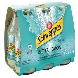Schweppes Bitter Lemon 6 x 19 cl EW Flaschen