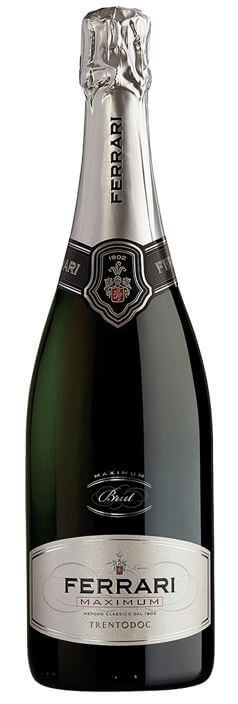 Ferrari Maximum Brut Metodo Classico Trento DOC 12.5% Vol. 75cl