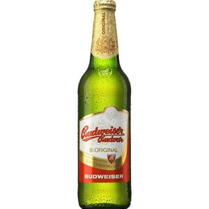 Budweiser Budvar beer 5% Vol. 33 cl EW Flasche Tschechische Republik