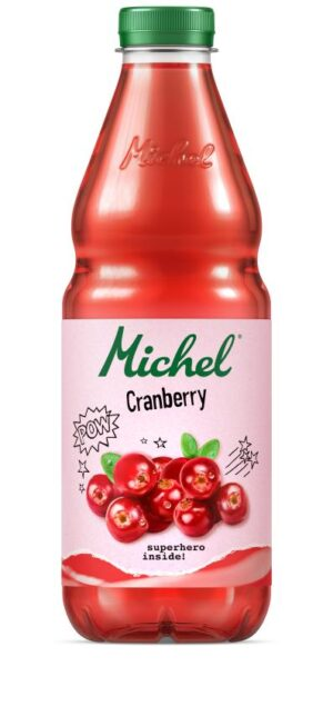 Michel Cranberry 4 x 100 cl Pet