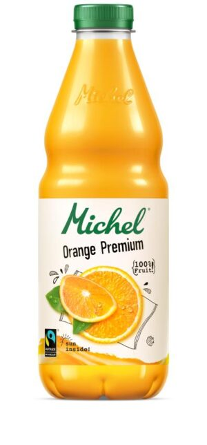 Michel Orange Premium Fairtrade 4 x 100 cl Pet
