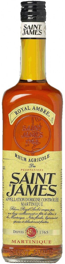 Rum Saint James Royal Ambré 40% Vol. 70 cl Martinique