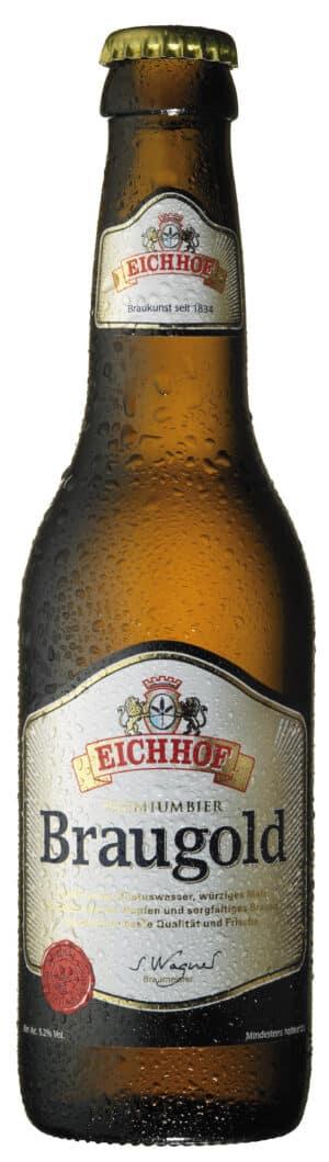 Eichhof Braugold 5,2% Vol. 6 x 33 cl MW Flasche