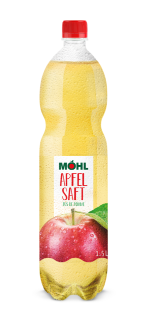 Möhl Apfelsaft hell 6 x 150cl PET