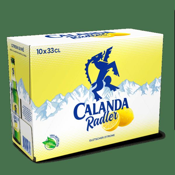 Calanda Radler 2% Vol.10 x 33 cl EW Flasche