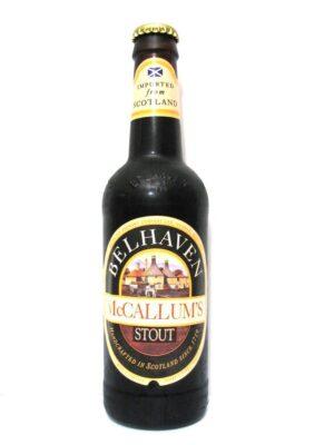 Belhaven McCallum's Stout 24 x 35 cl EW Flasche