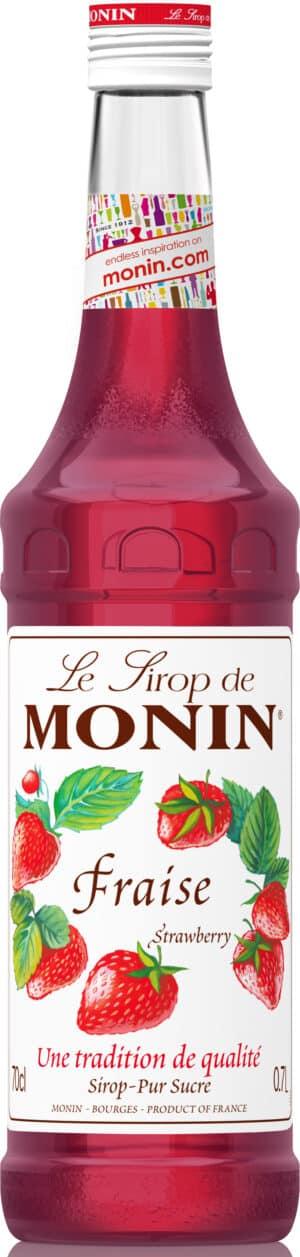 Erdbeer Monin Premium Sirup alkoholfrei 70 cl