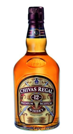 Chivas 12 Years Regal Scotch Whisky 40% Vol. 70 cl