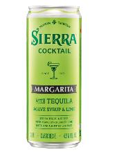 Sierra Margarita Cocktail mit Tequila 4,9% Vol. 24 x 33cl Dose