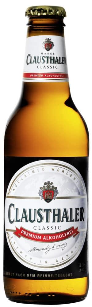 Clausthaler  Alkoholfreies Bier 24 x 33 cl MW Flasche