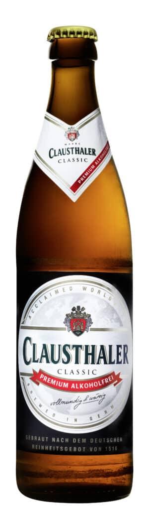 Clausthaler alkoholfreies Bier 20 x 50 cl MW Flasche