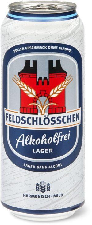 Feldschlösschen alkoholfrei 0,5% Vol. 6 x 50 cl Dosen
