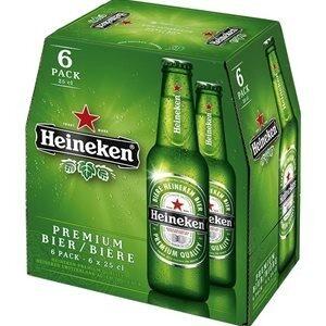 Heineken Premium Bier 5,0% Vol. 24 x 25cl EW Flasche