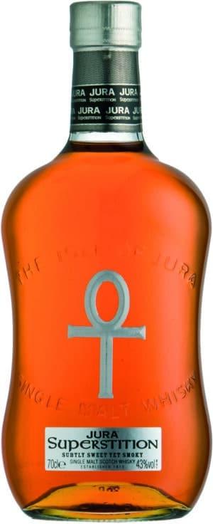 Isle of Jura Superstition Single Malt Whisky 43% Vol. 70 cl