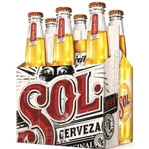 Sol Beer 4,5% Vol. 4 x 33 cl EW Flasche Mexiko