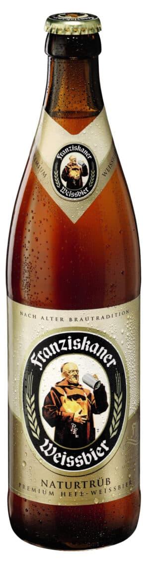 Franziskaner Weissbier Naturtrüb 20 x 50 cl MW Flasche