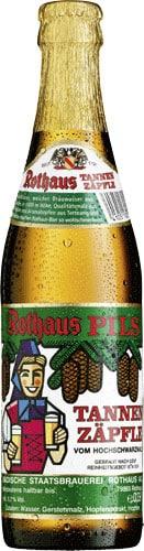 Rothaus Pils Tannenzäpfle 5,1% Vol. 33 cl MW Flasche