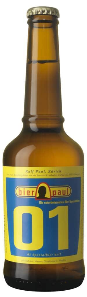 Bier Paul hell 01 6 x 33 cl MW Flasche