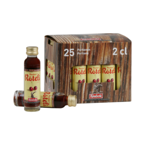 Kindschi Bündner Röteli 22% Vol. 25 x 2 cl Portion