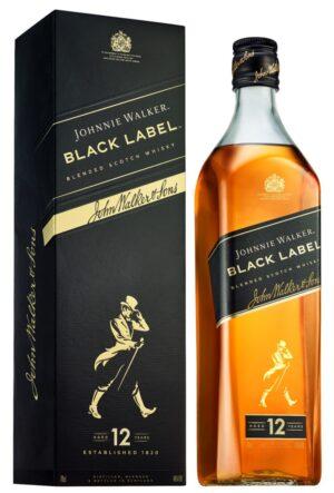 Johnnie Walker Black Label 12 years old 40% Vol. 70 cl