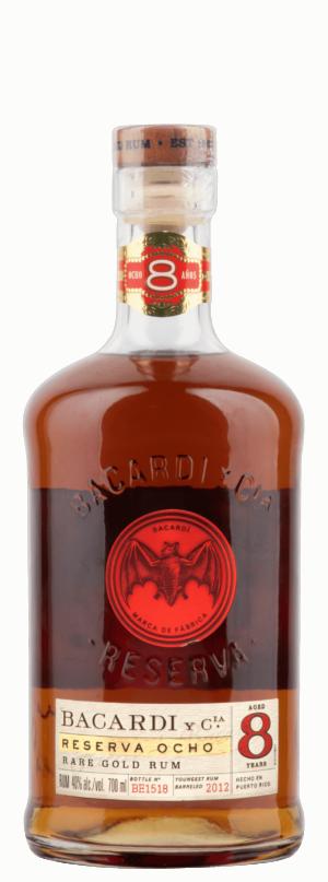 Rum Bacardi Reserva 8y 40% Vol. 70 cl Bahamas