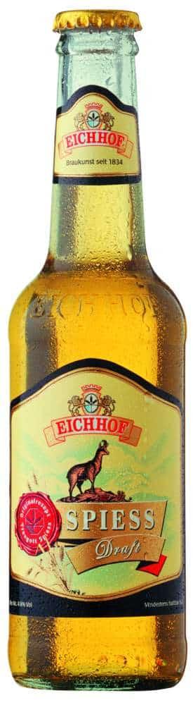 Eichhof Spiess Draft 4,8% Vol. 24 x 33 cl MW Flasche