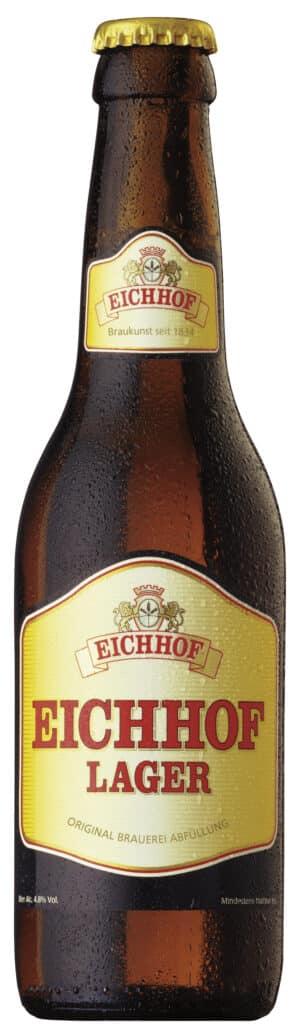 Eichhof Lager 4,8% Vol. 6 x 33 cl MW Flasche