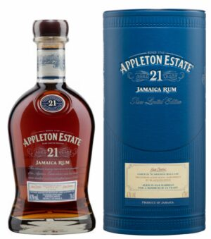 Rum Appleton 21 years old 43% Vol. 70 cl Jamaica