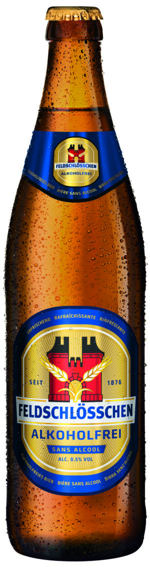 Feldschlösschen alkoholfrei 0,5% Vol. 6 x 50 cl MW Flasche