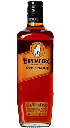 Bundaberg Rum Overproof Australia 57,7% 70 cl ( zur Zeit nicht lieferbar )