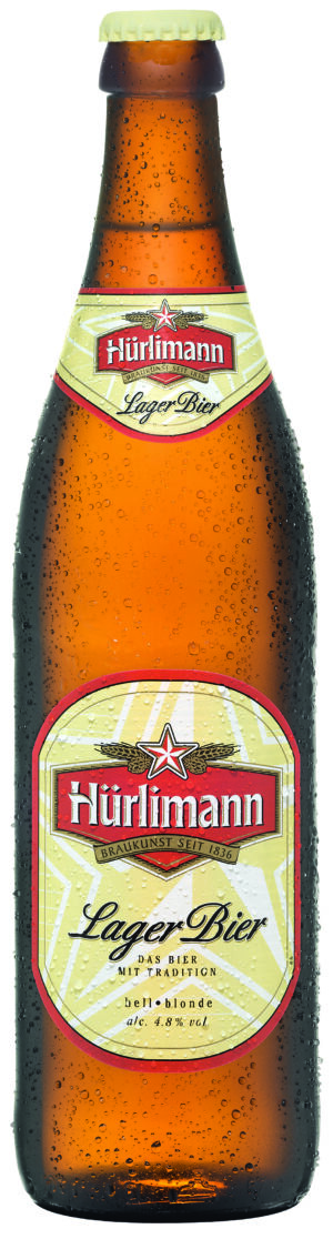 Hürlimann Lager 4,8% Vol. 50 cl MW Flasche