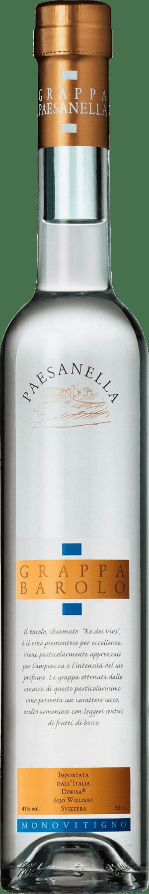 Grappa Barolo Paesanella 41% Vol. 50 cl
