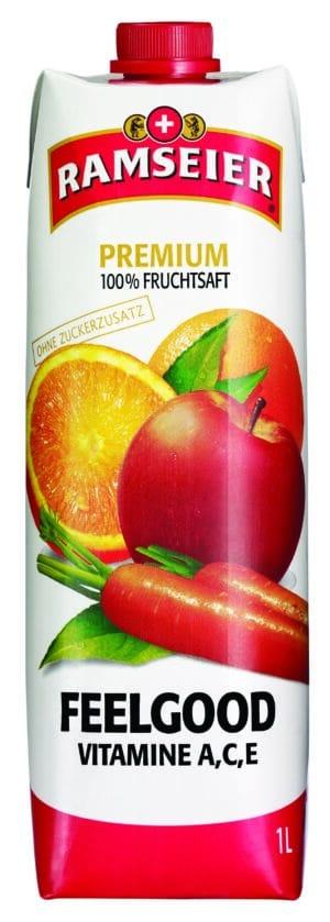 Ramseier Premium 100% Feelgood Prisma 4 x 100 cl Tetra