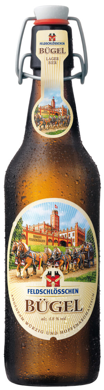 Feldschlösschen Bügel Bier 4,8% Vol. 6 x 50 cl MW Flasche
