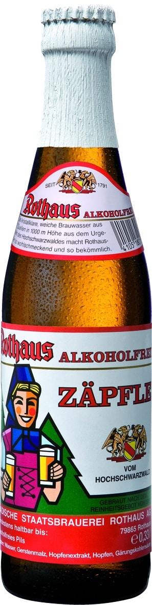 Rothaus Tannenzäpfle alkoholfrei 6 x 33 cl MW Flasche