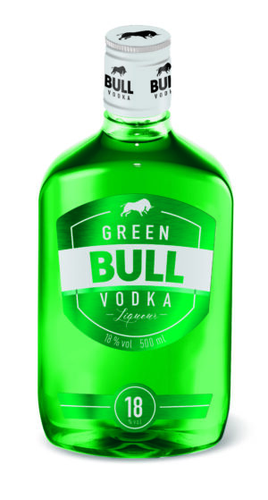 Green Bull Vodka Liquer 18% Vol. 50 cl PET